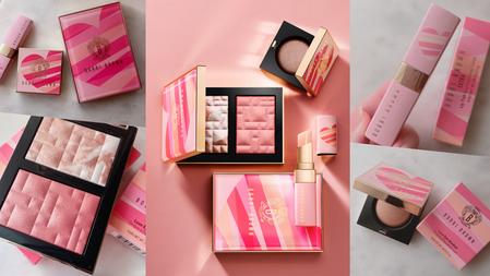 怦然心動情人節禮物No.1!Bobbi Brown『粉紅鑽光系列』絕美玫瑰光打亮、蜜漬粉潤唇+甜甜限量包裝全都愛♡