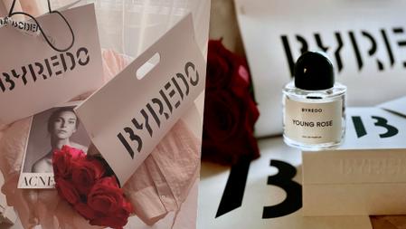 情人節限定絕美時尚花托送妳♥BYREDO『初生玫瑰淡香精』玫瑰、花椒、麝香結合出的仙境玫瑰香、乾淨清新迷人!