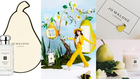 最值得收藏溝紋瓶身!Jo Malone London英國梨與小蒼蘭『上市10周年』推出古典優雅限定瓶!還有超可愛威廉梨子盒包裝~