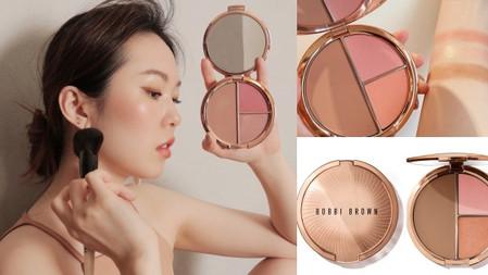 夏季就要來點溫柔粉裸色~Bobbi Brown 夏日拿鐵系裸妝→『限量訂製小顏頰彩盤』美到肌膚自體發光!