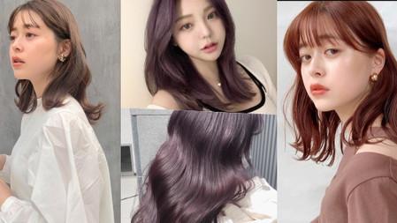 2021夏髮色TOP5→『溫柔小姊姊必染』微苦巧克力、泰迪熊奶茶、薄紗灰棕色...染後顯白、顯氣質!