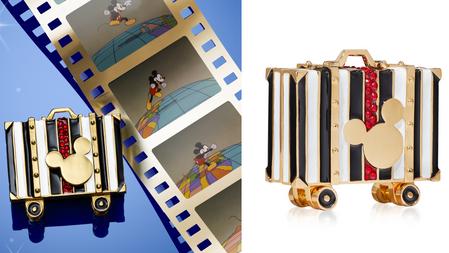 2021最夢幻收藏!雅詩蘭黛xDisney『迪士尼米奇金質粉餅/固體香精』 限量上市!珠寶設計精緻細節、完美翻玩童趣角色!