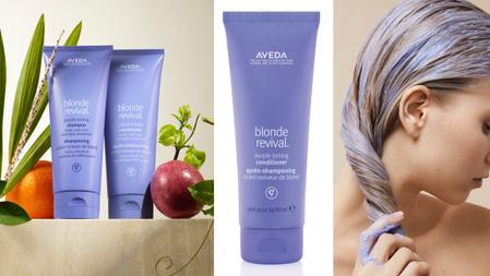 再也不怕髮色泛黃期!AVEDA 「冷萃淨色露、冷萃持色乳」用天然花植保養,延續絕美漂淺的冷色調髮色!