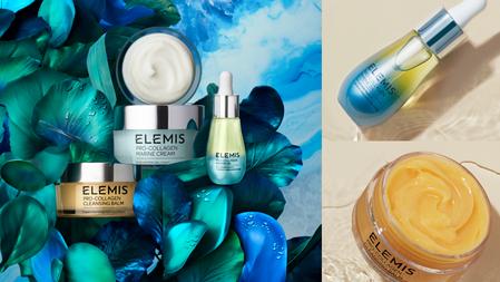 """英國NO.1頂級奢華護膚品牌ELEMIS登台!SPA與科學結合的保養品,量身定制「海洋膠原修護三部曲」,""""藻""""回緊緻彈嫩肌!"""