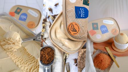 甜點控注意、想吃冰淇淋沒罪惡感!SUGARbISTRO『38%重乳棕櫚糖生淇淋』濃醇奶香&獨特棕櫚糖花蜜香,滿足你的口腹之慾!