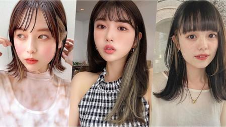 日女瘋染大勢髮色!長→短髮『輪廓染』指定髮型目錄,不僅髮型變化更大、臉也瞬間修小了!