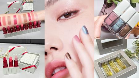 用「生命靈數」找到妳的色彩!THREE 2021 聖誕彩妝『眼唇頰迷你口紅彩妝組』讓妳用命定色打造此生最美妝容!限量相框精油組也必收~