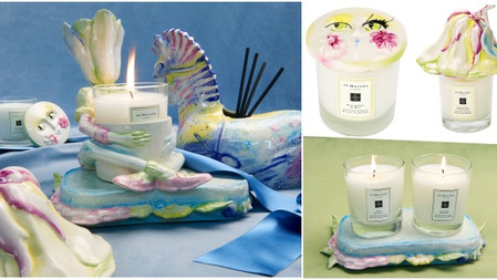 可愛爆擊♡Jo Malone London 全新設計師聯名居家家飾收藏→魔幻花園奇遇系列,讓蠟燭們都鮮活了起來~