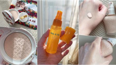 為WFH應援底妝神隊友!PAUL & JOE奶茶貓吸油蜜粉餅、糖瓷絲潤定妝噴霧,視訊貼妝度超完美!