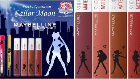 美戰迷快跟上!MAYBELIINE X 美少女戰士聯名彩妝, 推出最強美戰限定色唇釉,還有桃粉美戰限定瓶身,美瘋了!