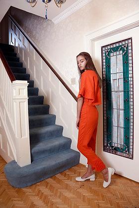 Kimono Sleeve Linen Top