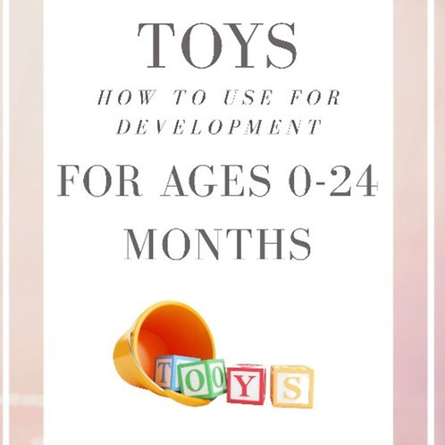 Toys for Ages 0-24 Months: How to use for development