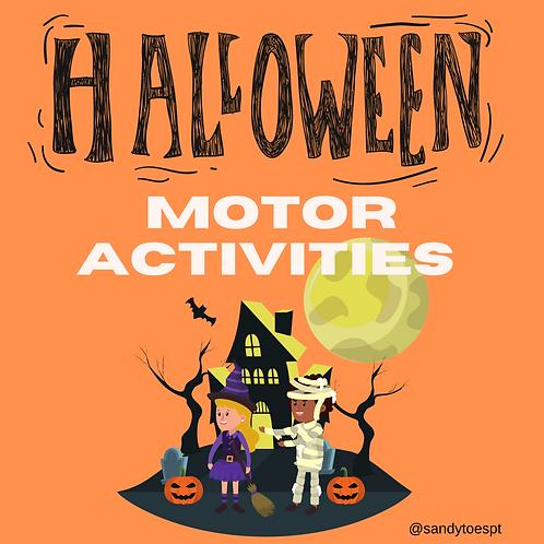 Halloween Motor Activities PDF