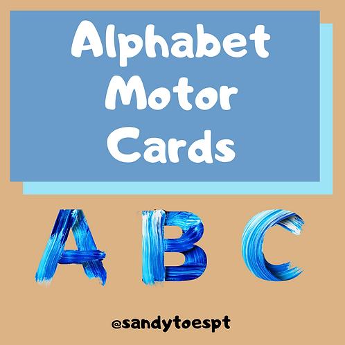 Alphabet Exercise Cards PDF