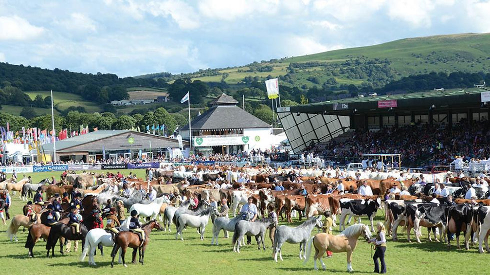 The Royal Welsh Show Departing Monday 19th July 2021