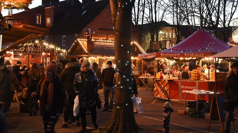 Lincoln Christmas Markets 4/12/21
