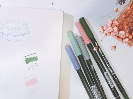 Resenha: Minhas canetas para Lettering