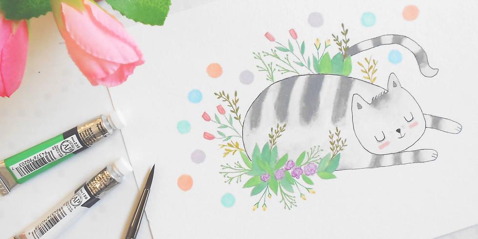 Workshop de aquarela