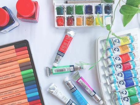Aquarela: Tudo sobre as tintas