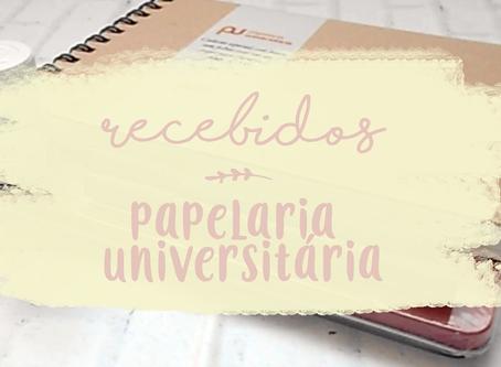 RECEBIDOS 01 | PAPELARIA UNIVERSITÁRIA