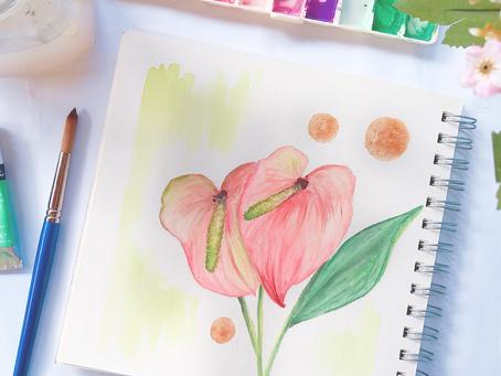 Flor do mês: Antúrio