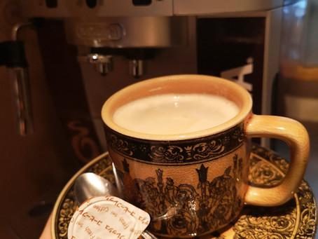 コーヒーマシンを新調しました!