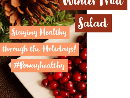 Easy Holiday Fruit Salad!