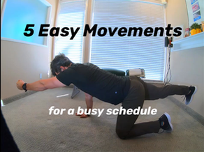 Prime Your Body for Optimal Movement in 5 Minutes!