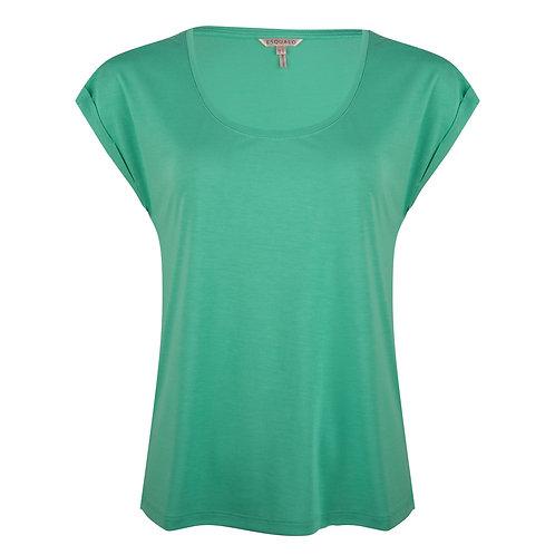 Esqualo Turn-Up Sleeved T-Shirt