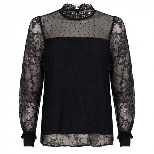 Esqualo / Lace Collar Blouse