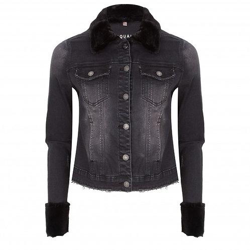 Esqualo / Fur Jean Jacket