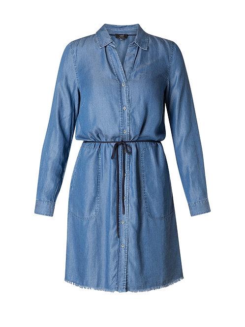 Yest Mid-Blue Denim Dress
