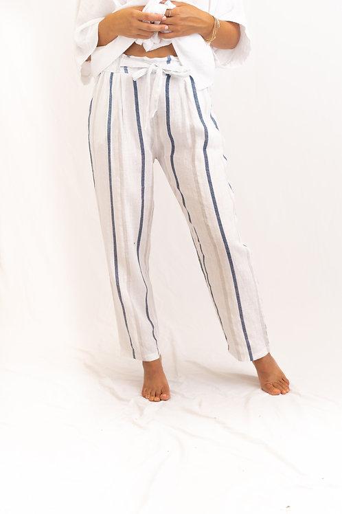 Me & Gee Stripe Drawstring Pant