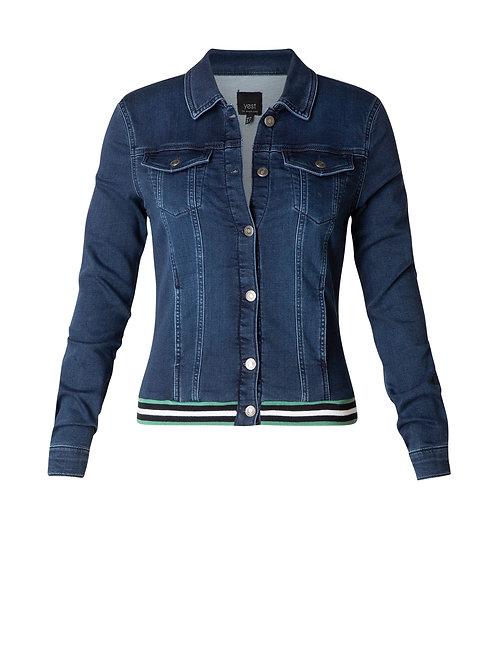 Yest Dark Blue Denim Jacket
