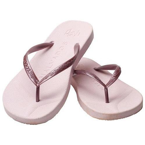 Malvados Playa Flip Flops in Pink