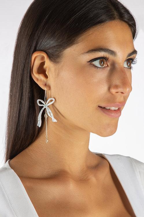 Elisa Cavaletti Bow-Tie Earrings