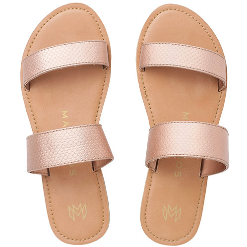 Malvados Icon Azalea Reptile Sandals in Pink