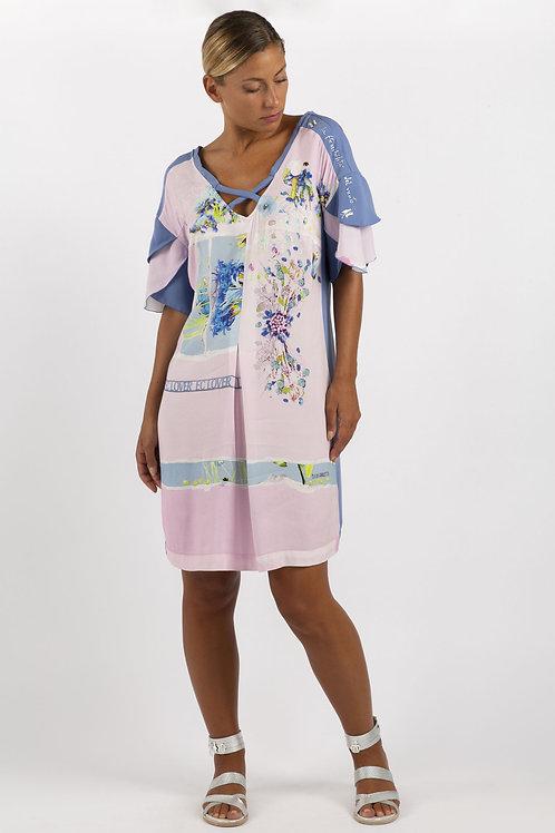 Elisa Cavaletti Pastel Dress