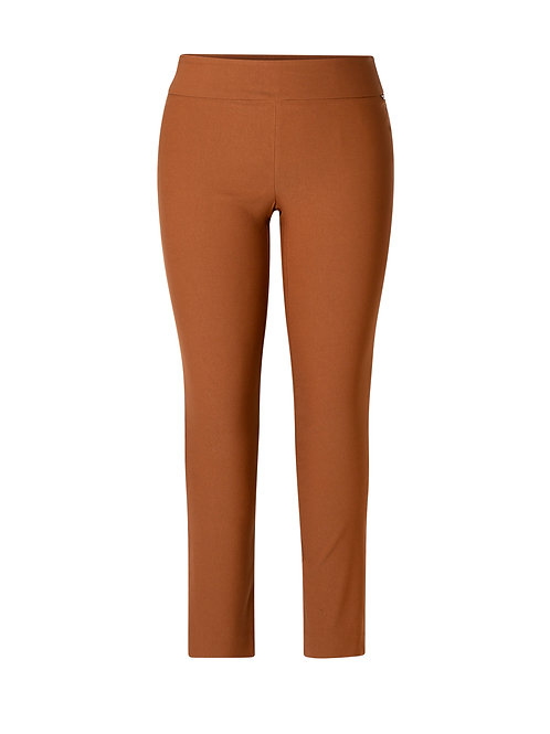 Basic by Yest Dark Camel Pant