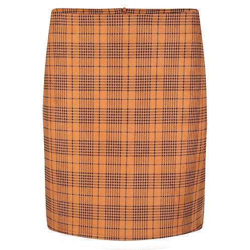 Esqualo Checkered Skirt