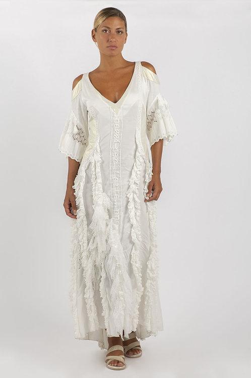 Elisa Cavaletti Frill Maxi Dress