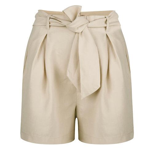 Esqualo High-Waist Short with Tie
