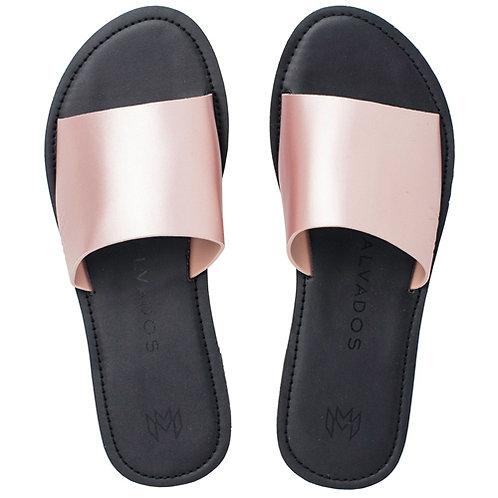 Malvados Icon Taylor Noir Sandals in Pink