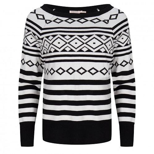 Esqualo / Jacquard Sweater