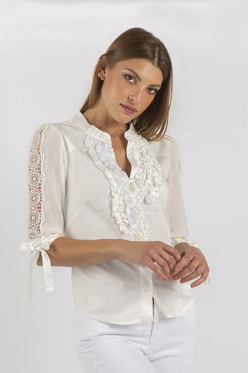 Elisa Cavaletti Detailed Blouse