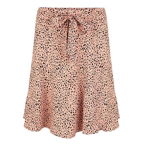 Esqualo Baby Leopard Print Skirt