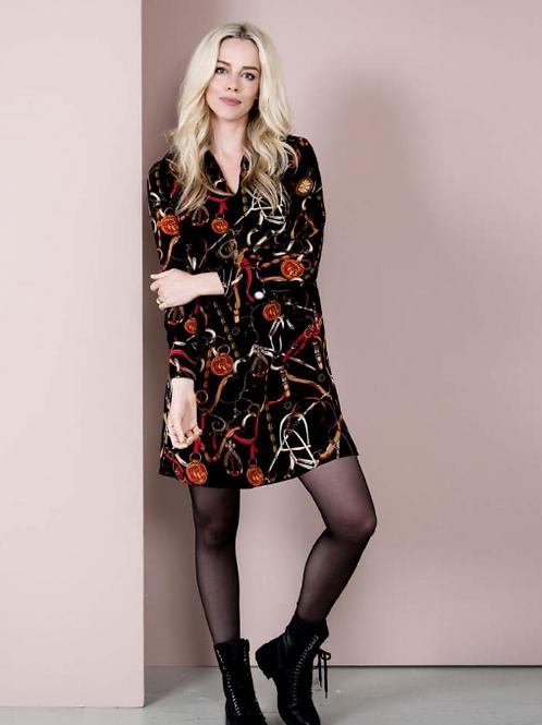 Esqualo Chain Print Dress