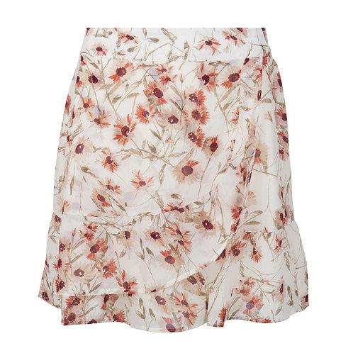Esqualo Floral Print Skirt