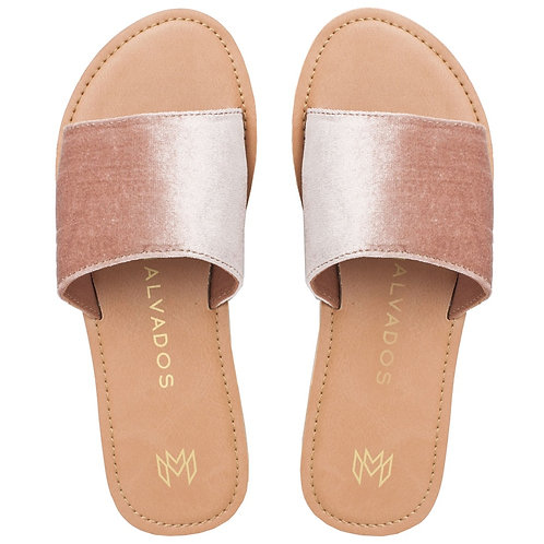 Malvados Icon Taylor Plush Sandals in Pink