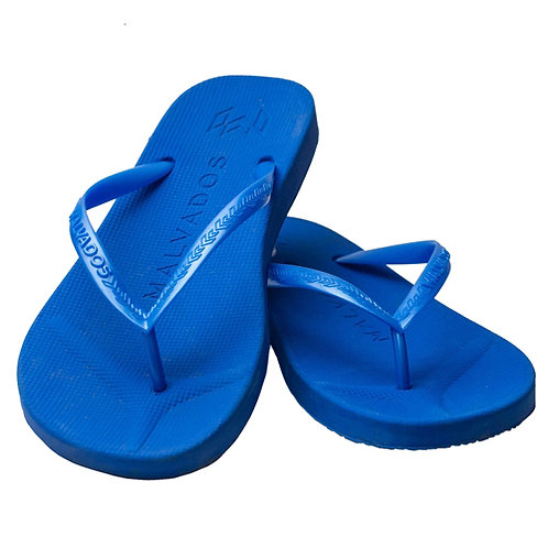 Malvados Playa Flip Flops in Blue